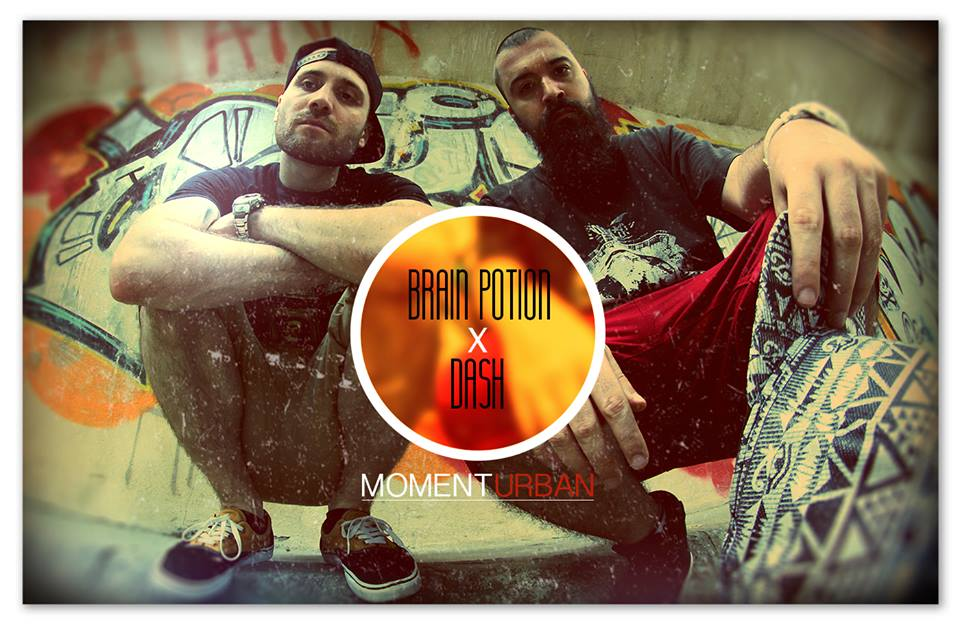 Brain Potion x Dj Dash - Moment urban - ARTWORK
