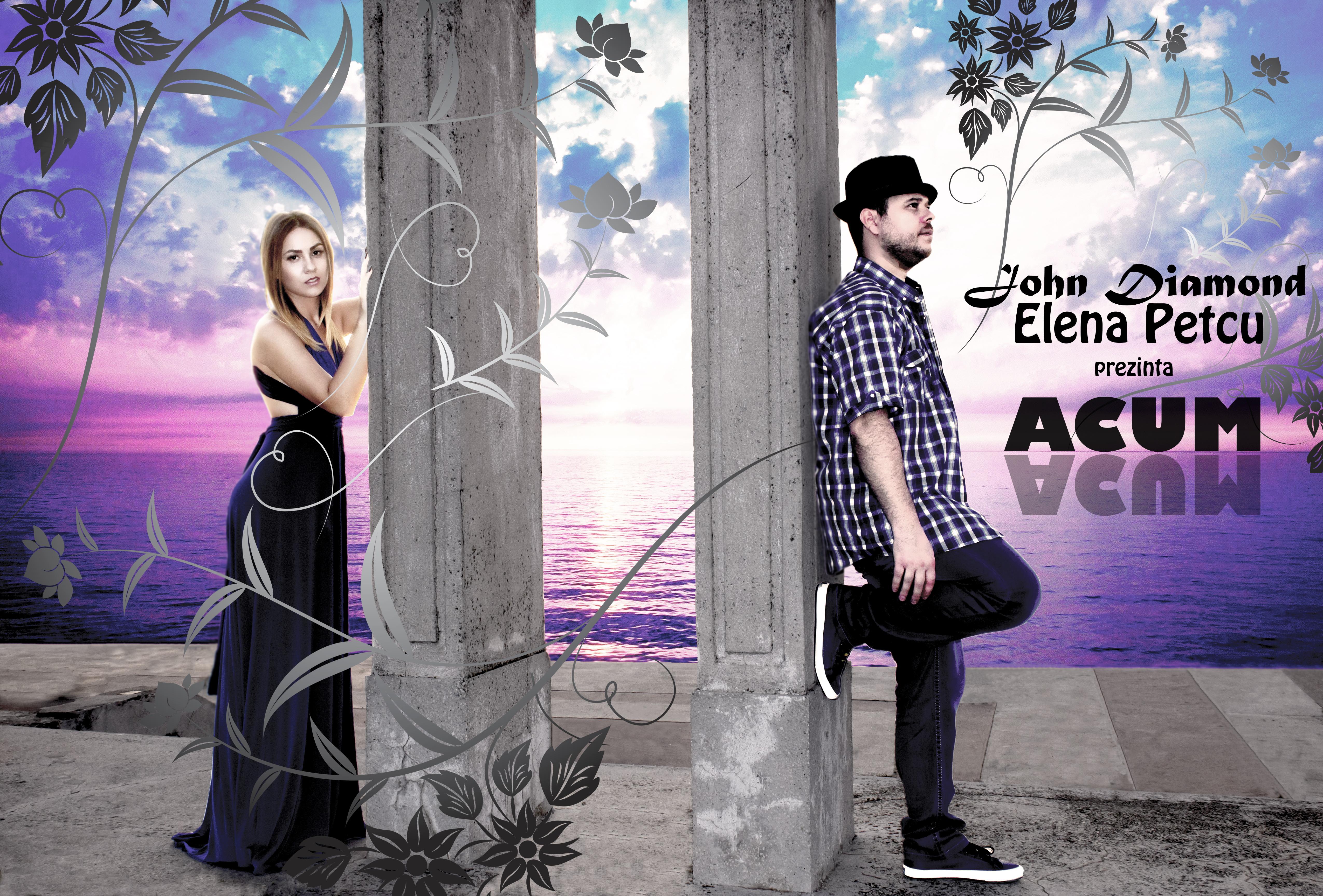 John Diamond Feat Elena Petcu - Acum CoverArt