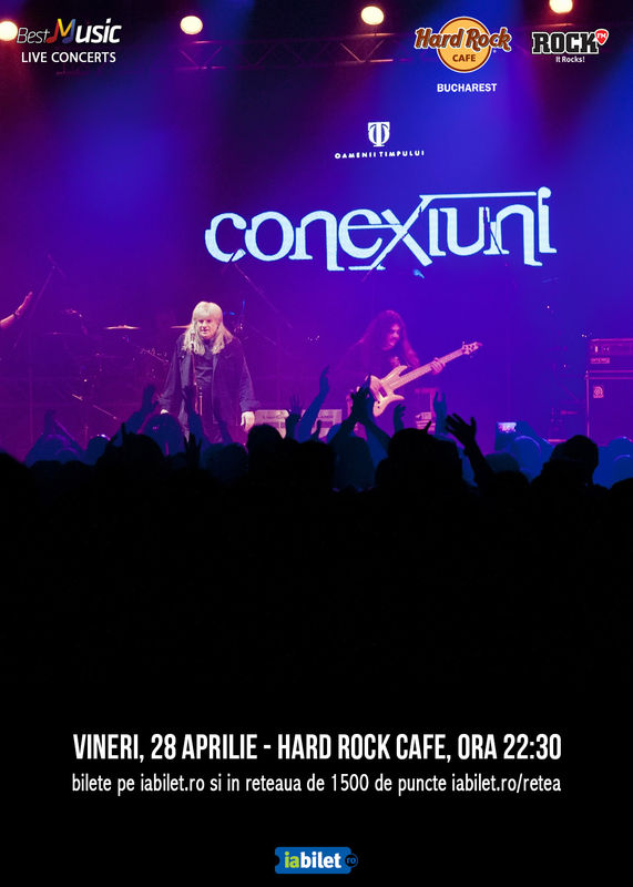 {focus_keyword} Concert CONEXIUNI in formula originala la Hard Rock Cafe 435b38e9 4f11 4dc3 b624 8e2f9ef9e030
