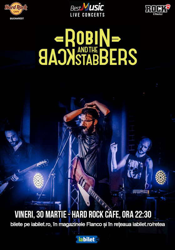 {focus_keyword} Concert Robin and The Backstabbers pe 30 martie la Hard Rock Cafe 47101e60 41dd 4095 a284 12df6a9deb8e