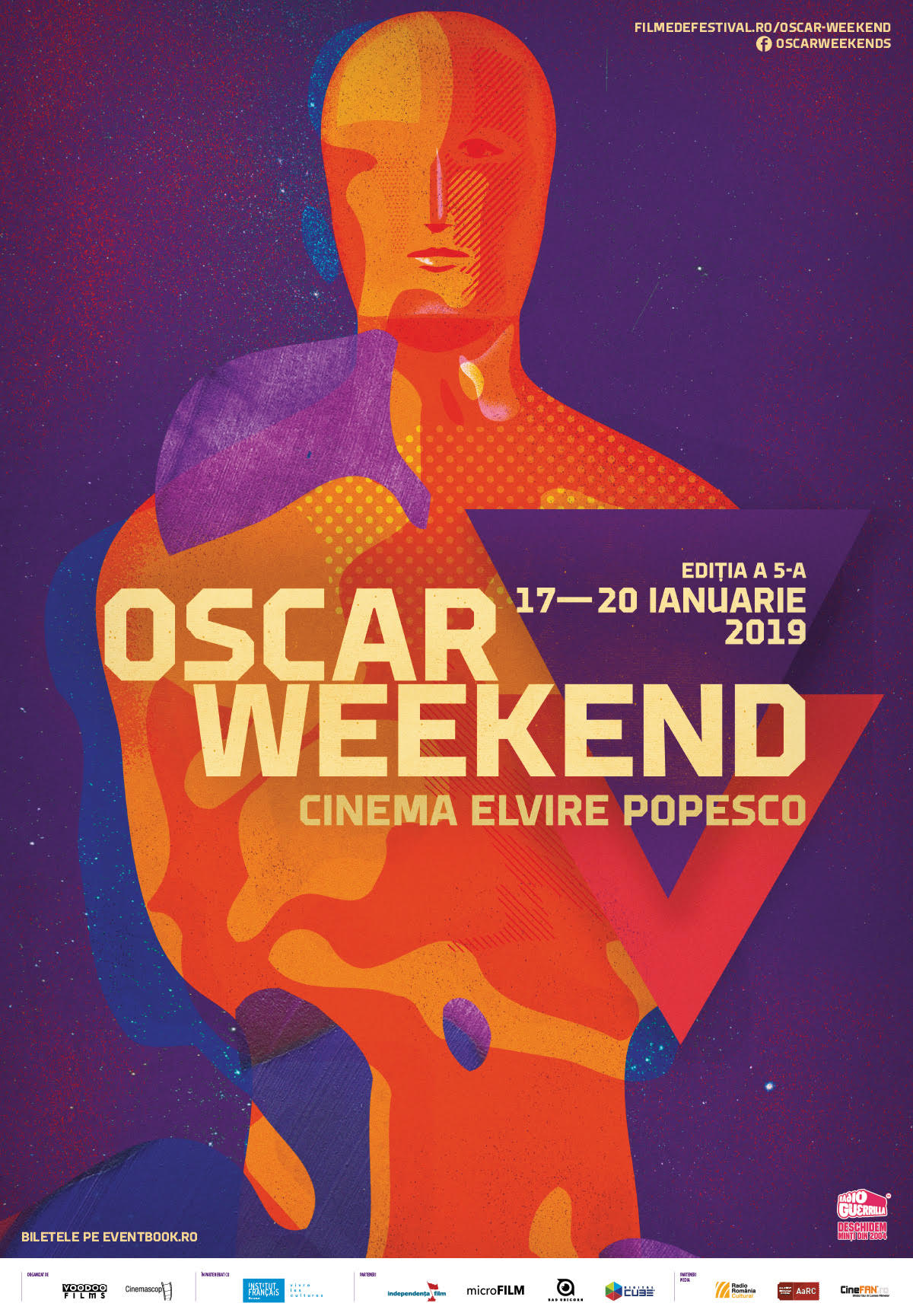 {focus_keyword} A început Oscar Weekend la Cinema Elvire Popesco Afis Oscar Weekend 2019