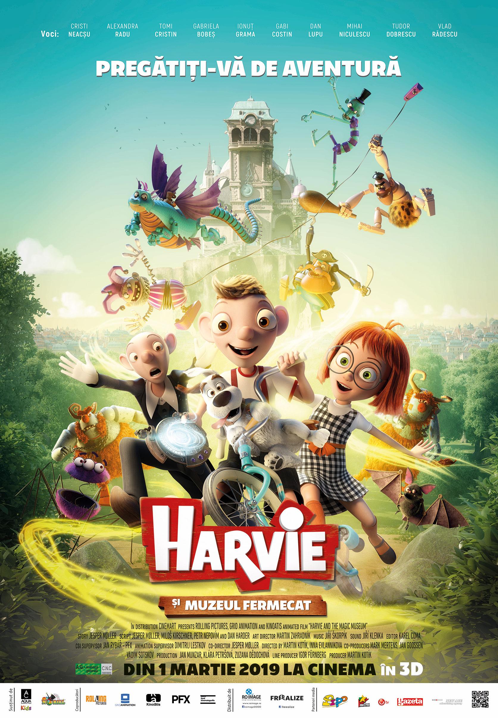 {focus_keyword} Animația 3D HARVIE ȘI MUZEUL FERMECAT se lansează în cinematografele din peste 50 de orașe din România la data de 1 martie 2019 629a78d9 1640 49fe 9f0b 92ca05e157bc