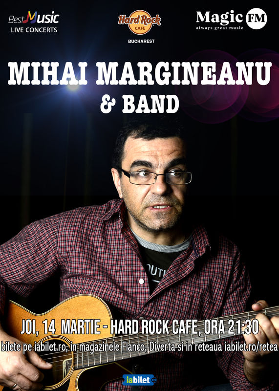 {focus_keyword} Concert Mihai Margineanu in Hard Rock Cafe 27809990 e9d0 46d0 9169 9806c849a95f