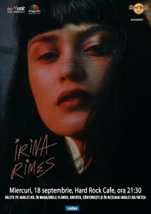 {focus_keyword} Concert Irina Rimes la Hard Rock Cafe pe 18 septembrie 22d4810e 561e 487d 992c 76de1d8e310b