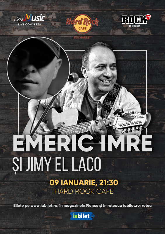 {focus_keyword} Concert Emeric Imre la Hard Rock Cafe pe 9 Ianuarie de3f4127 44a2 4e3d 84b4 f25df0503ce0